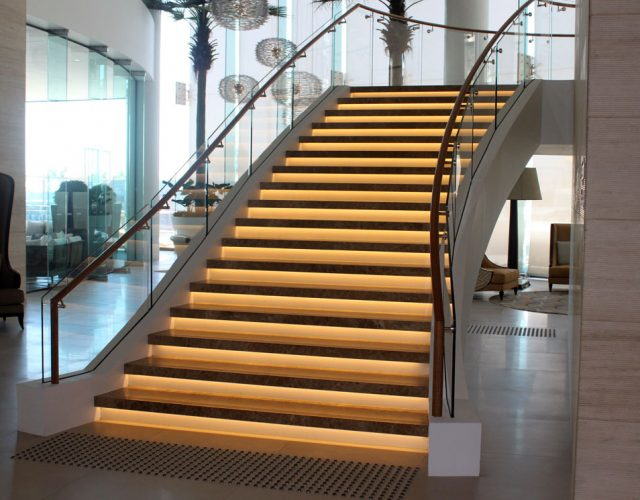 Soul Apartments QLD - Lobby Staircase