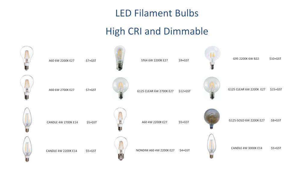 Clearance Filament Sale2