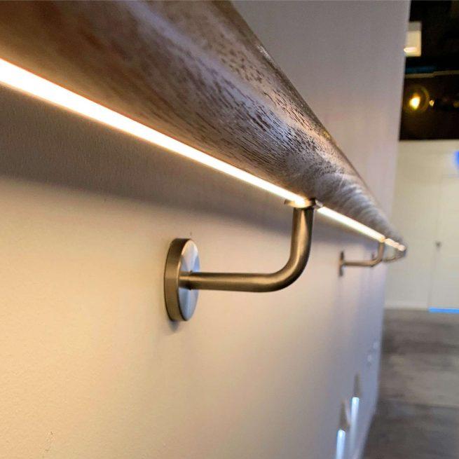LED Wooden Handrail